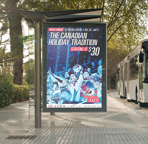2017 World Junior Bus Shelter Poster