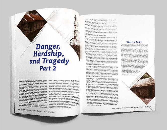 Magazine Spread Danger 2