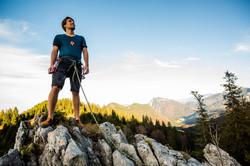 5 Klettern - am Gipfel ankommen