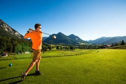 4 Abschlag Golf