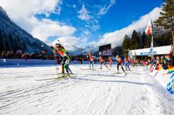 12 Biathlon Starterfeld Damen