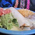 Lunch Chimichanga