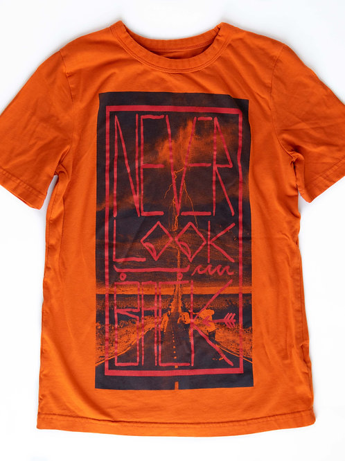 Boy's Orange T-Shirt - 10/12