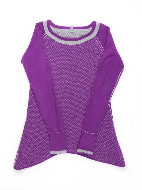 Girl's Ivivva Reversible Knit Sweater - 8