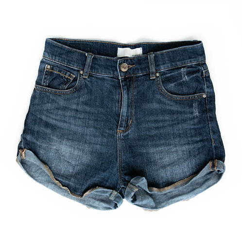 Girl's Garage High-Waisted Shorts - 14/16