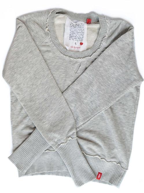 Women's Grey Sweater - Large