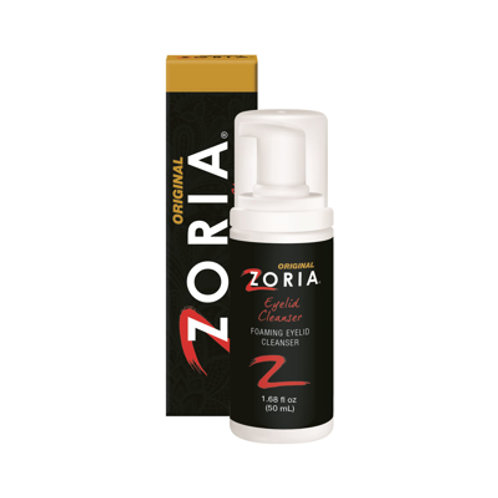 Zoria Original Foaming Eyelid Cleanser