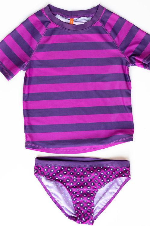 Girl's 2-Piece Swimsuit - 10/12