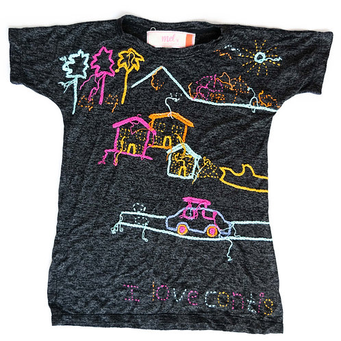 Girl's Black T-Shirt - 4