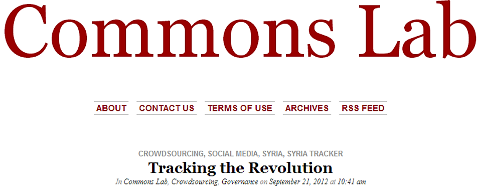 Humanitarian Tracker   News