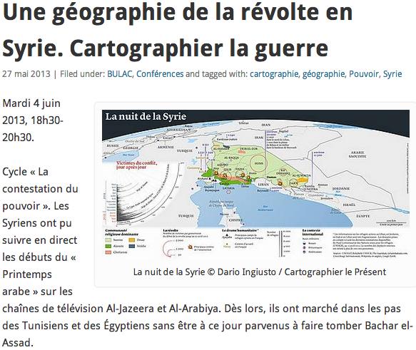 Une Géographie en Syrie