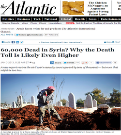 60,000 Dead in Syria?