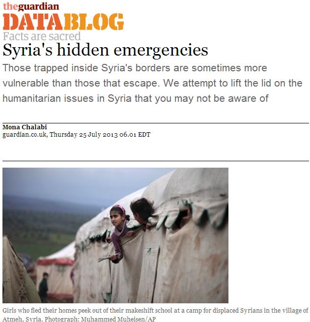 Syria's Hidden Emergencies