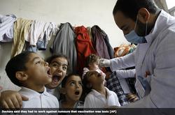Syria Polio Vaccination