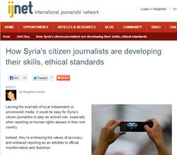 Syria's Citizen Journalists