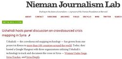 Ushahidi Panel Discussion