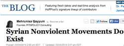 Syrian Nonviolent Movements