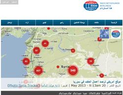 موقع أمريكي لرصد أعمال العنف في سوري