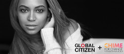 Chime for Change and Global Citizen