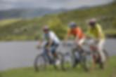 Mountain Bike en Dique La Quintana