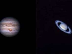 """""""Estrella de Belén"""": La gran conjunción de Júpiter y Saturno"""