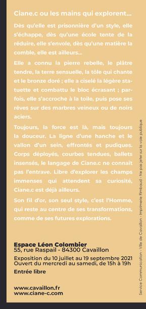 Flyer expo Cavaillon page 2