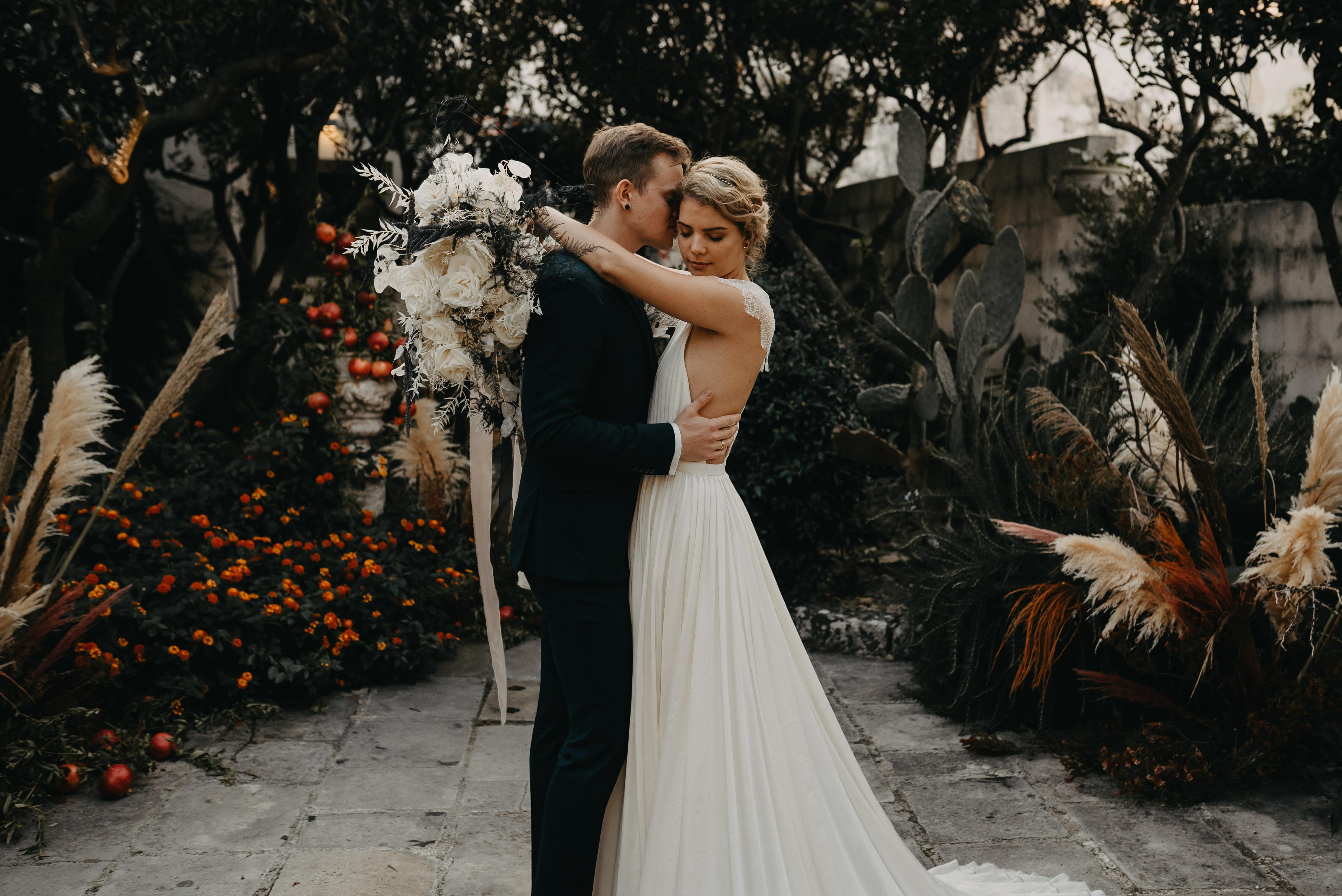 elopement wedding bruiloft in Italië