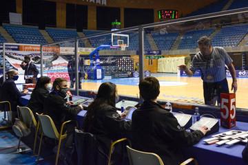 Partido de la liga ACB