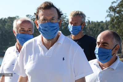 Mariano Rajoy recorre la variante espiritual del Camino de Santiago