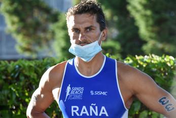 Iván Raña en el Campeonato de España de Triatlón