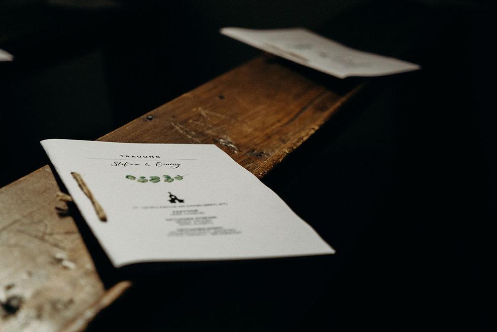 trouwkaarten bruiloft programma uitnodiging