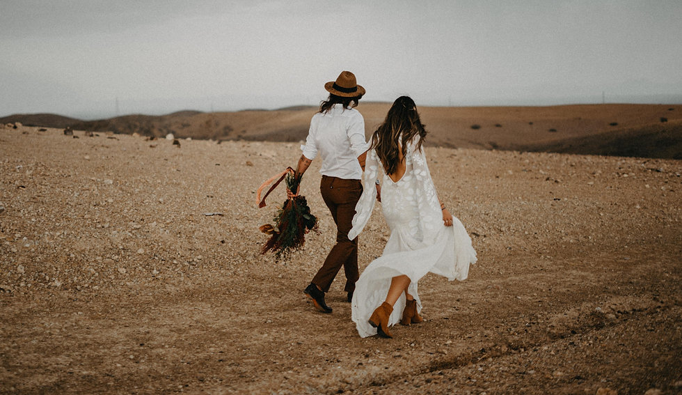 boho free spirit wedding in marrakesh