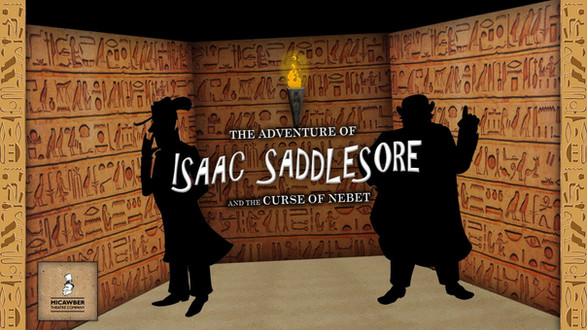 Isaac Saddlesore and The Curse of Nebet