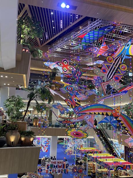 นิทรรศการโชว์ว่าวไทย 4 ภาค งาน The Mall Summer Explorer เดอะมอลล์ไลฟ์สโตร์ งามวงศ์วาน