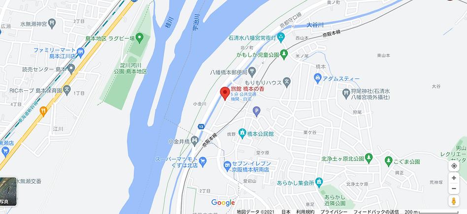 新しい満天星Google map.png