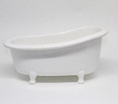 Banheira Branca Grande