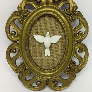Quadro Dourado Espírito Santo