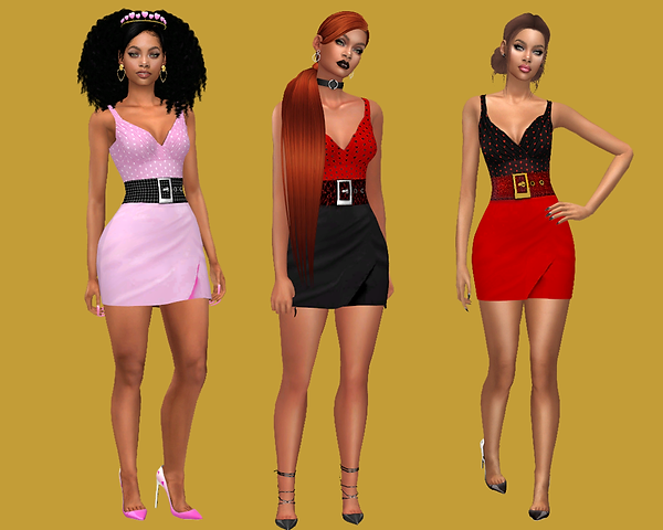 three sisters in Myra's  dress.png