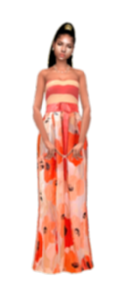 Orange bloosm gown.png