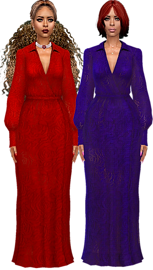 Long puff arm gowns 01.png