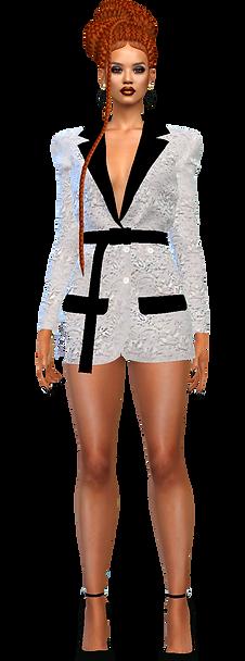 Blazer dress ot top white.png