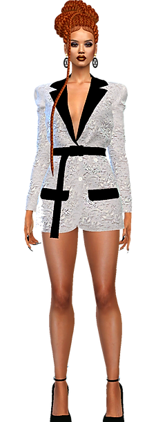 Blazer dress ot top white.png