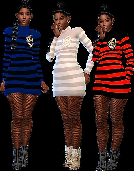 Short Stripe Dress  5.png