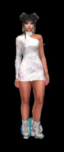 Short off shoulder dress 02.png