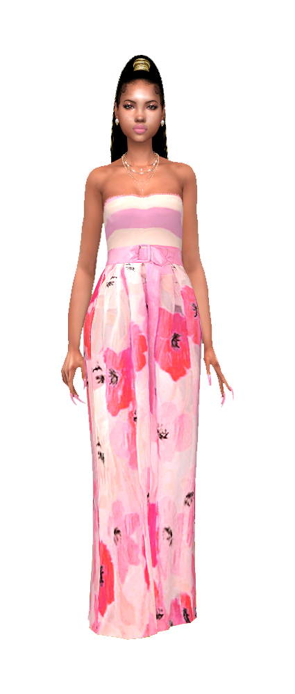 Pink bloosm gown.png