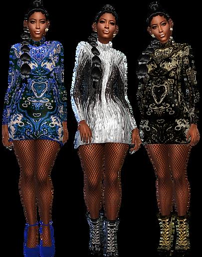Short shine dress 7.png