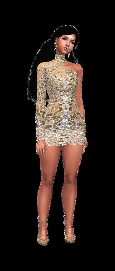 Short off shoulder dress 01.png