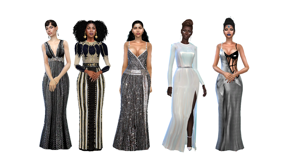 Five Gowns 04/03/18