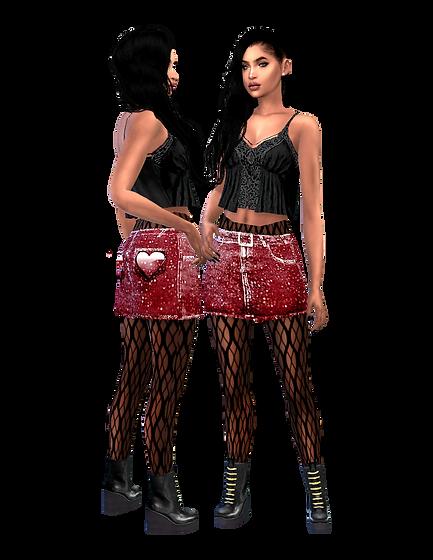 Denim Heart skirt.png