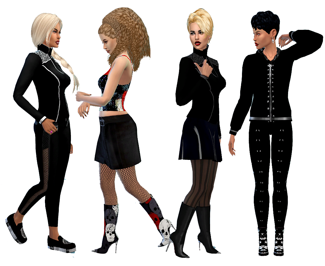 Ladies Shoes Sims